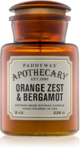 Paddywax Apothecary Orange Zest & Bergamot mirisna svijeća 226 g