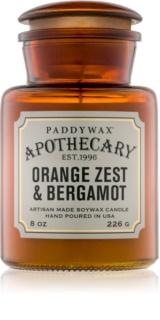 Paddywax Apothecary Orange Zest & Bergamot illatos gyertya  226 g