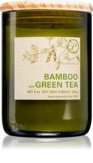 Paddywax Eco Green Bamboo & Green Tea vela perfumada