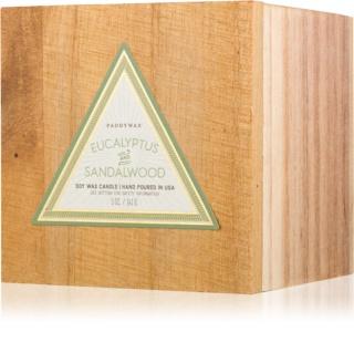 Paddywax Woods Eucalyptus & Sandalwood bougie parfumée 141 g