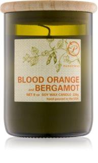 Paddywax Eco Green Blood Orange & Bergamot bougie parfumée 226 g
