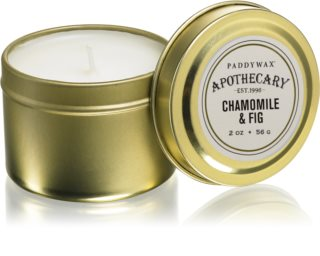 Paddywax Apothecary Chamomile & Fig duftkerze  in blechverpackung
