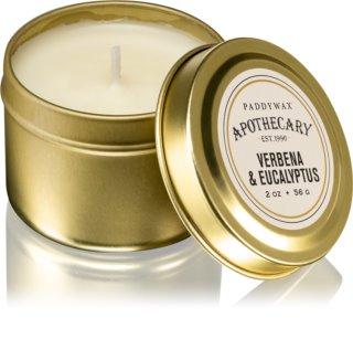 Paddywax Apothecary Verbena & Eucalyptus αρωματικό κερί σε μετταλικό βάζο