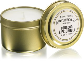 Paddywax Apothecary Tobacco & Patchouli duftkerze  in blechverpackung