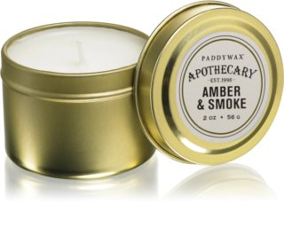 Paddywax Apothecary Amber & Smoke duftkerze  in blechverpackung