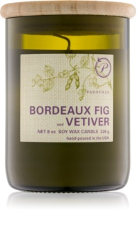 Paddywax Eco Green Bordeaux Fig & Vetiver vela perfumado 226 g