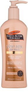 Palmer's Hand & Body Cocoa Butter Formula Self-Tanning Body Cream for Gradual Tan