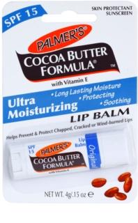 Palmer's Face & Lip Cocoa Butter Formula feuchtigkeitsspendendes Lippenbalsam LSF 15