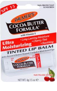 Palmer's Face & Lip Cocoa Butter Formula balsam de buze hidratant colorat SPF 15
