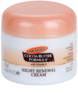 Palmer's Face & Lip Cocoa Butter Formula Renewing Night Cream with Anti-Aging Effect