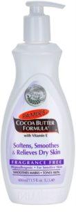 Palmer's Hand & Body Cocoa Butter Formula Verzachtende Body Balsem voor Egalisatie van Droge Huid  Parfumvrij