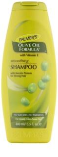 Palmer's Hair Olive Oil Formula розгладжуючий шампунь з кератином