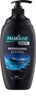 Palmolive Men Refreshing gel de ducha para hombre 3 en 1