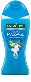 Palmolive Aroma Sensations Feel The Massage gel de dus cu efect exfoliant