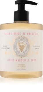 Panier des Sens Renewing Grape tekoče milo za obraz, roke in telo