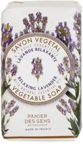Panier des Sens Lavender relaxáló növényi szappan