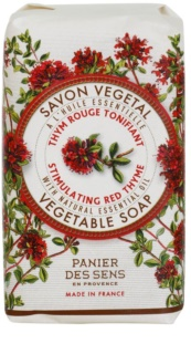 Panier des Sens Red Thyme Invigorating Herbal Soap