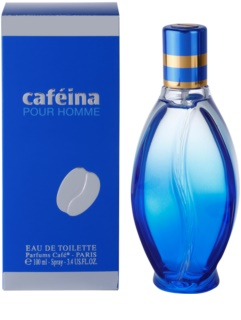 Parfums Café Caféina Pour Homme Eau de Toilette for Men 100 ml