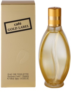 Parfums Café Café Gold Label Eau de Toilette for Women 100 ml