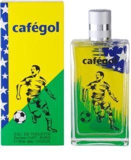 Parfums Café Cafégol Brazil eau de toilette para hombre 100 ml