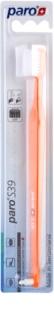 Paro S39 cepillo de dientes + cepillo con un solo penacho 2 en 1 suave