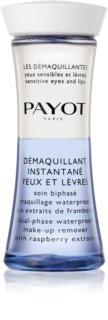 Payot Les Démaquillantes dvofazno sredstvo za uklanjanje vodootporne šminke s usana i  oko očiju