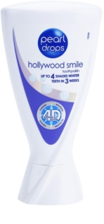 Pearl Drops Hollywood Smile dentífrico branqueador para dentes brancos radiantes