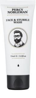 Percy Nobleman Face & Stubble очищуючий гель для обличчя та зони вусів