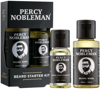 Percy Nobleman Beard Starter Kit Cosmetic Set I.