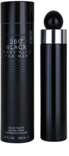 Perry Ellis 360° Black Eau de Toilette für Herren 200 ml