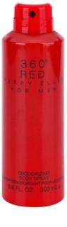 Perry Ellis 360° Red Körperspray für Herren 200 ml