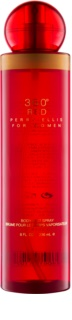 Perry Ellis 360° Red spray corporal para mujer 236 ml