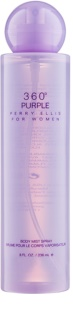 Perry Ellis 360° Purple spray corporal para mujer 236 ml