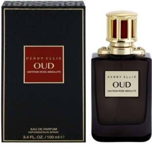 Perry Ellis Oud Saffron Rose Absolute parfemska voda uniseks 100 ml