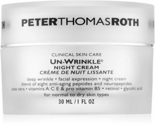 Peter Thomas Roth Un-Wrinkle crème de nuit anti-rides
