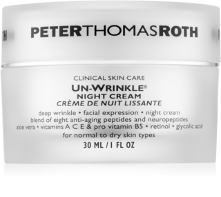 Peter Thomas Roth Un-Wrinkle Anti-Wrinkle Night Cream