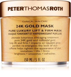 Peter Thomas Roth 24K Gold masque visage raffermissant luxe effet lifting