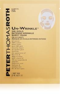 Peter Thomas Roth Un-Wrinkle 24K Gold Zellschicht-Maske gegen Falten