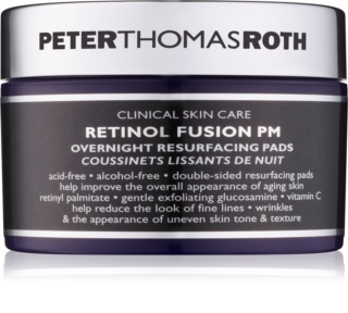 Peter Thomas Roth Retinol Fusion PM Night Face Pads with Anti-Wrinkle Effect