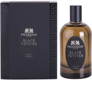 Phaedon Black Vetiver eau de parfum mixte 100 ml