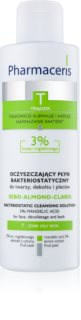 Pharmaceris T-Zone Oily Skin Sebo-Almond-Claris Cleansing Water for Oily and Problematic Skin