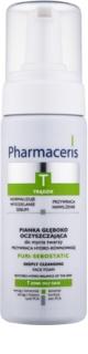 Pharmaceris T-Zone Oily Skin Puri-Sebostatic pianka oczyszczająca do skóry wysuszonej i podrażnionej leczeniem trądziku