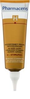 Pharmaceris H-Hair and Scalp H-Stimupeel peeling korpásodás és hajhullás ellen