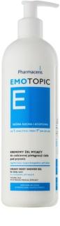 Pharmaceris E-Emotopic gel de duche cremoso para uso diário