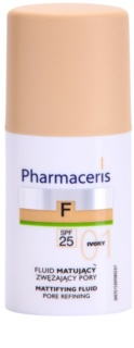 Pharmaceris F-Fluid Foundation mattierendes Make up-Fluid SPF 25