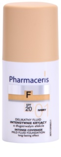 Pharmaceris F-Fluid Foundation intensives, deckendes Make up mit langanhaltendem Effekt SPF 20