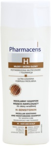 Pharmaceris H-Hair and Scalp H-Sensitonin shampoing apaisant cuir chevelu pour cheveux fins