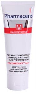 Pharmaceris M-Maternity Tocoreduct Forte Body Balsem  tegen Striea