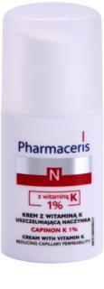 Pharmaceris N-Neocapillaries Capinion K 1% Versterkende Crème voor Gesprongen Adertjes Couperose voor Snel Herstel