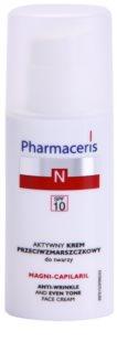 Pharmaceris N-Neocapillaries Magni-Capilaril Voedende Anti-Rimpel Crème  SPF 10